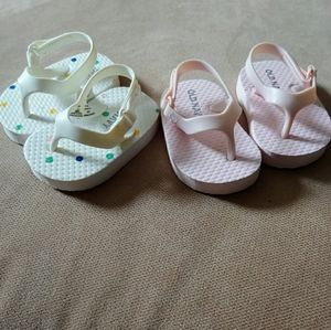 Old Navy Baby Sandals 0-3 Months